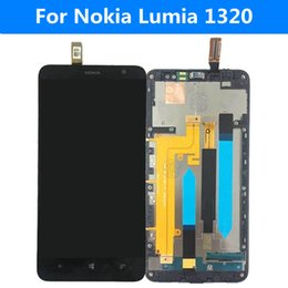 $enCountryForm.capitalKeyWord Canada - Wholesale-New 100% tests Original with Black frame LCD For Nokia Lumia 1320 LCD Display Touch Screen Digitizer+replacement tools Assembly