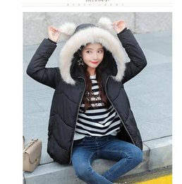 Barato Casacos Coreanos Vender-.2018 Best-seller New Fashion Winter Coat Mulheres Vestuário Short Cotton Size Loose Thickened Coreano Down Jacket Mulheres Casaco