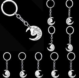 $enCountryForm.capitalKeyWord Canada - NEW Hot Cartoon Game movie keychian Moon with heart text keychain wedding favors keychain best gifts cc130