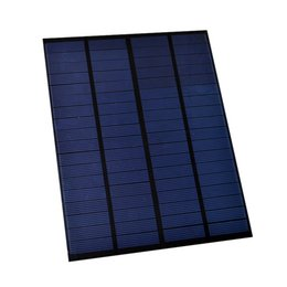 Wholesale solar panels 5W online shopping - 100Pcs W V Waterproof Encapsulated Solar Cell Panel Polycrystalline Solar Cell for DIY and Solar Project DHL Shipping