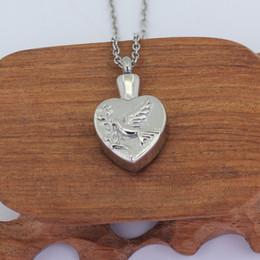 $enCountryForm.capitalKeyWord Canada - 500 Styles Stainless Steel Cremation Jewellery hummingbird Pendant Keepsake heart Necklace P857