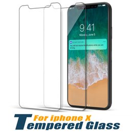 Tempered huawei online shopping - For iPhone XS XR XS Max Huawei Mate Pro P10 Tempered Glass Screen Protector Film Screen Protectors For Galaxy J4 Plus J2 Core No Package