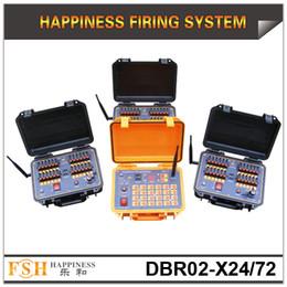 Опт FedEX / DHL Бесплатная доставка, 72 реплики дистанционного управления фейерверк система стрельбы, последовательная система стрельбы, 500 м беспроводная система управления, быстрая доставка