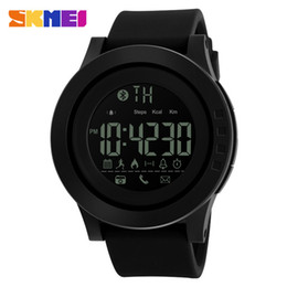 universal smart watch NZ - SKMEI 2019 men and women universal smart watch calorie multi-function remote control camera 50M waterproof digital men's SmartWatch Rel