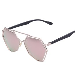 Mixed banking online shopping - S9021 Europe and the United States punk hollow out the sun glasses female character on the left bank super lovers metal sunglasses