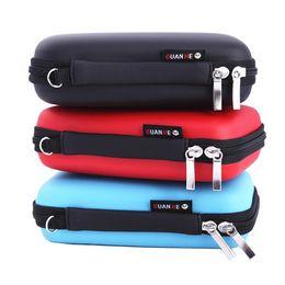 Flash drive capacity online shopping - High Capacity Storage Bags Multi Function PU Digital Handbag Square Waterproof USB Flash Drive Pouch Hot Sale yz B R