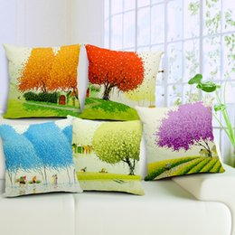 Online Shopping 7 Styles Cotton Linen Decorative Outdoor Pillow Cover Throw  Pillow Cover Cushion Case Home