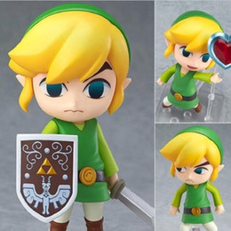 Chinese  The Legend of Zelda Skyward Sword Link Figma PVC Action Figure Collectible Model Toy 10cm (No retail box) manufacturers