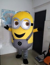 Minions Costume Adultes À Vendre Pas Cher-Factory Outlets Hot Sale le grand professionnel minion Halloween Fancy Dress dessin animé adulte Mascotte Costume Livraison gratuite