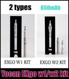 Vamo batteries online shopping - 2015 Limited Vamo Yocan Exgo W1 W2 Kit Wax for Vaporizer Nero Technology Fast Heating mah Battery Dhl free Hot Sale Newest Best Tz336
