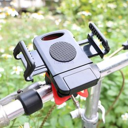 Iphone Plus Bike Mount Canada - Universal Bicycle Bike Mobile Phone Holder Handlebar Mount for iphone 5s 6 6s 6s plus for Galaxy S5 S6 S6 Edge Plus