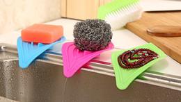 Slip ceramicS online shopping - Kitchen Drain Tray Non Slip Multi Functional Petal Shape Soap Dish For Home Bathroom Articles Colourful gx C