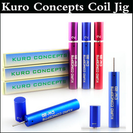 Kuro coiler wire coiling online shopping - Kuro Concepts Wire Coiling Tool Koiler coil jig RAD coil tools drawing Wrapping Coiler for kayfun ATTY Troll Mad hatter RDA via DHL