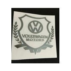 Vw Volkswagen Car Badge Emblems NZ - 2015 Excellent New car metal Badge case For polo tiguan passat b5 golf 6 golf 7 VW Volkswagen car emblem