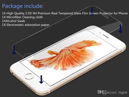 $enCountryForm.capitalKeyWord NZ - For Iphone 7 Plus Iphone 6S Plus 5S Top Quality Tempered Glass Film Screen Protector 0.2MM 2.5D