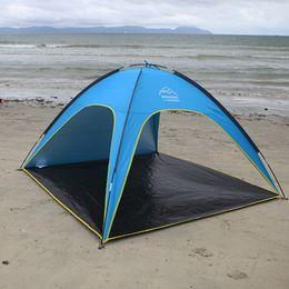 Wholesale- Summer use beach c&ing tent UV protection sun-shading tent for 3-4 people sun protection tent on sale & Discount Sun Protection Tent | 2018 Sun Protection Tent on Sale at ...