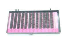 False Eyelashes Handmade Canada - False Lashes Professional Eyes Makeup Individual Lashes Eyelashes Extension Eyelash Handmade Fake False Eyelashes 0.12C-curl 10mm Free DHL