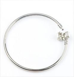 Moda 4 estilos nuevos 925 de plata Vogue SP brazalete pulseras ajuste europeo encanto cadenas cadenas de joyería DIY en venta