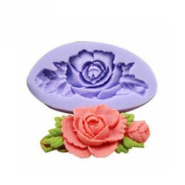 $enCountryForm.capitalKeyWord UK - Silicone Rose Flower Cake Mould Soap Chocolate Resin Mould Baking Tool