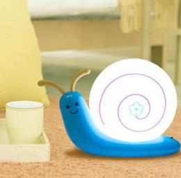 $enCountryForm.capitalKeyWord Australia - Snail Led Light USB Cable Rechargeable Night Light cartoon lamp bed room light led novelty light free shipping