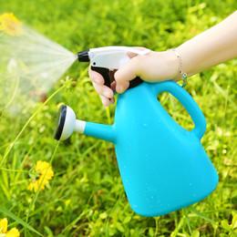 $enCountryForm.capitalKeyWord Canada - 1PCS Plastic Watering Cans For Garden Planting Flowers Bottle Sprayer Water Pots arrosoir plastique
