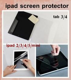 $enCountryForm.capitalKeyWord Canada - high clear Screen Protector Guard Cover Film Shield for iPad Mini ipad air ipad 2 3 4 5 tab3 4 lenovo tablet film for touch screen SSC003