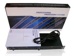 Großhandel DHL free fracht grafik equalizer audio EQ215 audio equalizer 2x15 band stereo equalizer studio ausrüstung equalizador equalizer