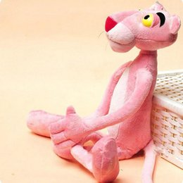 $enCountryForm.capitalKeyWord Canada - Toys Gifts Child Gift Cute Naughty Pink Panther Plush Stuffed Doll Toy Home Decor 40CM Wholesale and Drop Shipping