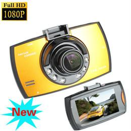 Night Vision Inch Canada - Original G30 HD 1080P Car Camera Car DVR Novatek 96220 Vehicle Traveling Date Recorder Night Vision Tachograph 2.7 inch LCD Car DVRs