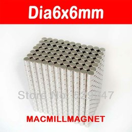 Rare Earth Disc Magnets Sale NZ - 50pcs pack, dia6x6mm Neo magnet, Whole Sales Brand New Disc Rare-earth Neodymium Strong Magnet, Free shipping