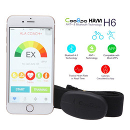 $enCountryForm.capitalKeyWord Canada - NEW CooSpo H6 ANT Bluetooth V4.0 Wireless Sport Heart Rate Monitor Smart Sensor Chest Strap for iPhone 4S 5 5S 5C 6 6Plus