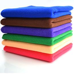 Pad Floor Canada - Microfiber Car Cleaning Towels Car Wash Cloth Hand Towel Microfiber Towel Car Dry Pad Dishcloth Bathroom Clean Towels Hair Dry Towels