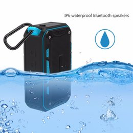 wholesale portable speakers NZ - Bluetooth Stereo Speakers Outdoor Bluetooth Speakers Portable Mini Smart wireless speaker MP3 Music Player Tf card Retail Box