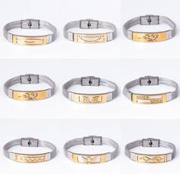 Discount silver bracelets men designs - Fashionable Design Men Woman Steel belt Bracelet alloy snow Small fish love silver bracelets 16 style for best gift aa60