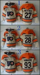 ... Time Hockey Alternate Orange Hoodie Philadelphia Flyers 27 Ron Hextall  28 claude giroux 93 jakub voracek Cheap Hockey Hooded Stitched Old ... 6a8d43cff