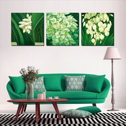 $enCountryForm.capitalKeyWord NZ - 3 Pieces no frame free shipping on Canvas Prints Chinese style landscape painting lotus flower fish sandy beach sea Drifting bottle tree