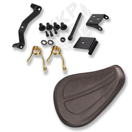 Solo Seat SpringS online shopping - Solo Seat W quot Springs Bracket Mount for Harley Sportster XL Fatboy Dyna Softail
