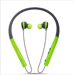 Chinese  colorful Hanging ear Portable earphone Sport Neck Bluetooth headset MS-760A hight quality Beautiful and durable for LG iphone samsung manufacturers