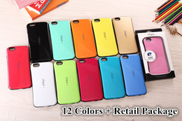 Note Iface Case Australia - iFace Shockproof Candy Color TPU PC Hybrid Impact Armor Hard Back Cover Case For iPhone 4 5 6 6S Plus Samsung Galaxy S5 S6 Edge Note 3 Note4
