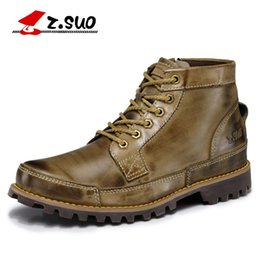 $enCountryForm.capitalKeyWord NZ - Wholesale- Z. Suo men 's boots, and the quality of the boots, leather fashion tooling male, leisure fashion season man boots. zs608