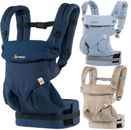 Barato Sling Portador Bebês-Baby Infant Safety Cotton Carrier 360 Multifuncional respirável Four Seasons Mochila para bebês Kid Carriage Sling Wrap Baby Travel Supplies