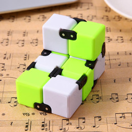 Science gameS puzzleS online shopping - Novelt Infinity Cube Anti Stress Magic Door Hand Out Puzzle Game Toy Anti Stress Finger Spinners For Adhd Kids Adults Toy Fidget Cube
