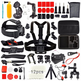 Gopro sjcam kit online shopping - Freeshipping For Gopro kit tripod accessories set for Sj4000 Sj7000 For GoPro Session Hero Xiaomi Yi k Eken H9 H9R SJCAM