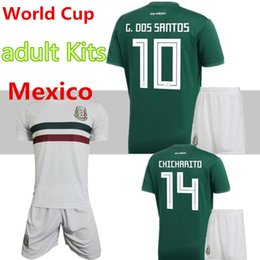 Discount team soccer jersey set kit - Mexico national team adult Mexico  Kits Soccer Jerseys Home 1c5dc6ca7