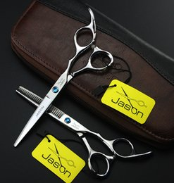Hairdressing Scissors Kits Canada - 305# 5.5'' Hair Cutting Thinning Hairdressing Scissors Kit,Professional Salon and Home Bangs Hair Shears,Right Hand Barbershop Styling Tool