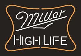 Miller high life bar lights australia new featured miller high brand new miller high life real glass neon sign light beer bar pub arts crafts gifts lighting 22 aloadofball Choice Image