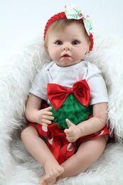 $enCountryForm.capitalKeyWord Canada - Wholesale- 22 Inch 55cm Soft Silicone Reborn Babies For Sale Lifelike Vinyl Baby Doll