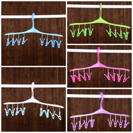 Discount Easy Closets   PWet And Dry Hangers Safe Removable Clip Clothes  Rack Wire Design Easy