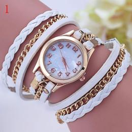 $enCountryForm.capitalKeyWord Canada - Hot Sales Wristwatch Fashion Quartz leather Watch Women's Watches 10 Colors for lady gif free shipping