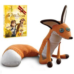 stuffed animals fox NZ - 1pc 40cm & 60cm The Little Prince and the Fox Plush Toy Stuffed Animals Plush Education Toys for Baby